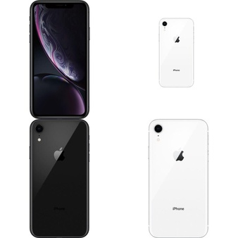 23 Pcs – Apple iPhone XR – Refurbished (GRADE A – Unlocked) – Models: MRYR2LL/A, MRYY2LL/A, 3D830LL/A, MRYT2LL/A