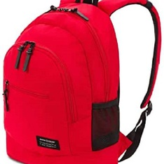 100 Pcs – SWISSGEAR SA282I Laptop Backpack (RED) – New – Retail Ready