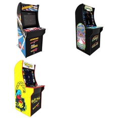 Pallet - 5 Pcs - Video Games & Gaming Software - Customer Returns - Arcade 1UP, ARCADE1up, Red Planet