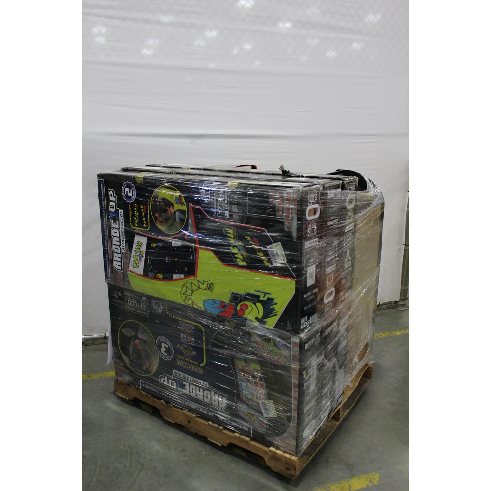 Pallet - 8 Pcs - Video Games & Gaming Software - Customer Returns - Arcade  1UP, Red Planet, ARCADE1up
