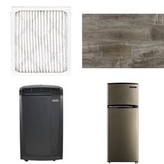 3 Pallets - 67 Pcs - Hardware, Air Conditioners, Accessories, Refrigerators - Customer Returns - Filtrete, De'Longhi, Select Surfaces, Dyno Exchange