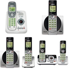 Pallet – 292 Pcs – Cordless / Corded Phones – Customer Returns – VTECH, AT&T
