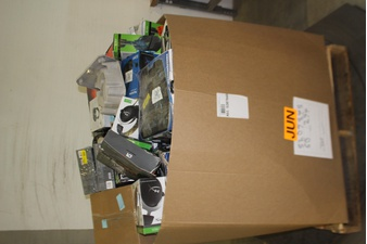 Pallet – 169 Pcs – Video Game Accessories – Tested NOT WORKING – Plantronics, HyperX, Turtle Beach, Microsoft