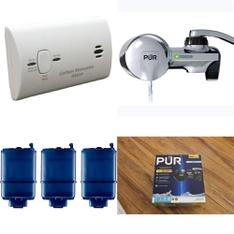 Pallet – 87 Pcs – Kitchen & Dining, Hardware, Smoke Alarms & CO Detectors – Customer Returns – PUR, Kaz, Kidde