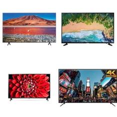 22 Pcs – LED/LCD TVs – Refurbished (GRADE A) – RCA, Samsung, HISENSE, TCL