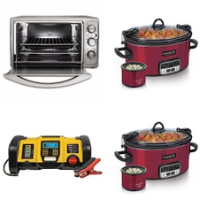 Pallet - 38 Pcs - Slow Cookers, Roasters, Rice Cookers & Steamers, Deep Fryers, Toasters & Ovens - Customer Returns - Dash, Crock-Pot