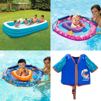Pallet – 100 Pcs – Pools & Water Fun, Outdoor Sports, Action Figures, Not Powered – Customer Returns – Play Day, SwimSchool, Summer Waves, Madd Gear