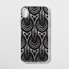 27 Pcs - Heyday Apple iPhone XR Case, Black Lace - Hard Polycarbonate - Open Box Like New, New, Like New, New Damaged Box - Retail Ready