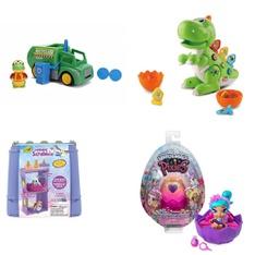 Pallet – 225 Pcs – Dolls, Unsorted, Baby Toys, Boardgames, Puzzles & Building Blocks – Customer Returns – Hasbro, Barbie, Hatchimals, Jada