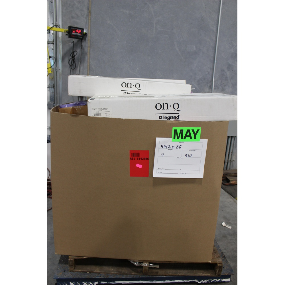 Clearance! Pallet - 701 Pcs - Hardware, Security & Surveillance,  Accessories, Home Security & Safety - Brand New - Retail Ready - USP,  MONO-SYSTEMS,