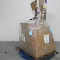 Half Truckload - 13 Pallets - 729 Pcs - Hardware, Heaters, Vehicles, Trains & RC, Covers, Mattress Pads & Toppers - Customer Returns - Mainstay's, Brinks, Honeywell, Brink's