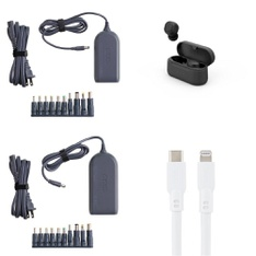 Pallet – 569 Pcs – Other, Over Ear Headphones, Power Adapters & Chargers, Keyboards & Mice – Customer Returns – onn., Onn, Anker, MONSTER INC