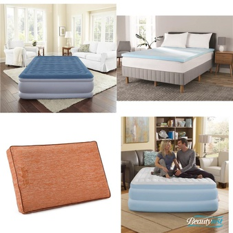 Pallet – 30 Pcs – Covers, Mattress Pads & Toppers, Comforters & Duvets – Customer Returns – Mainstay's, Beautyrest, American Textile