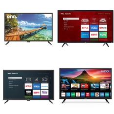 Truckload – 22 Pallets – 457 Pcs – TVs – Open Box (Tested Working) – VIZIO, Onn, TCL, Samsung