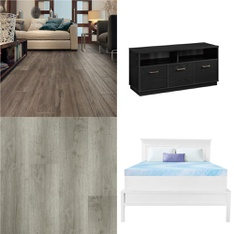 Pallet - 33 Pcs - Tools - Hardware, Bedroom, Covers, Mattress Pads & Toppers - Customer Returns - Select Surfaces, Mainstay's, Dream Serenity