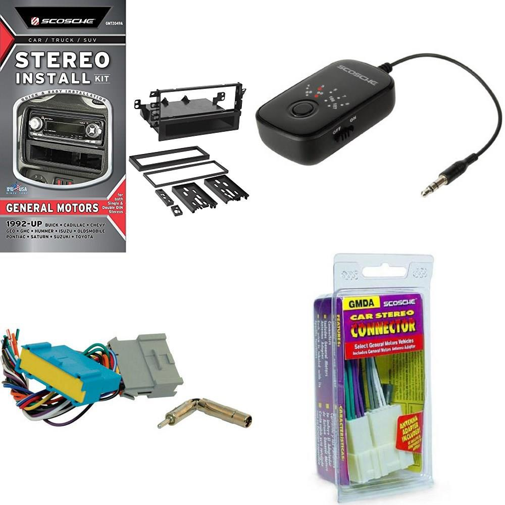 Scosche GM02B Car Stereo Wiring Harness for Select 1988-05 Buick//Pontiac