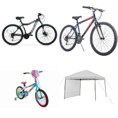 Pallet – 7 Pcs – Cycling & Bicycles, Camping & Hiking – Customer Returns – Ozark Trail, Movelo, Hyper Bicycles, LittleMissMatched