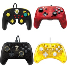 13 Pcs – Nintendo Controllers – Refurbished (BRAND NEW, GRADE A) – Models: 500-100-NA-D11, Candy Mini Wired Controller For Nintendo Switch, Stormin Cherry, 500-069-NA-LZ00, 500-134-NA-CM04