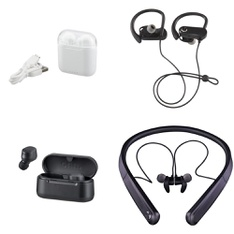 3 Pallets – 938 Pcs – In Ear Headphones, Lamps, Parts & Accessories, Powered, Accessories – Customer Returns – Blackweb, Onn, One For All, Sony