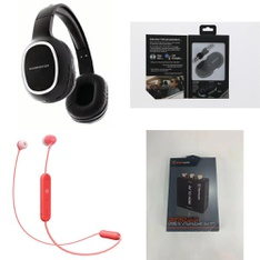 3 Pallets - 900 Pcs - Accessories, Over Ear Headphones, Lamps, Parts & Accessories, In Ear Headphones - Customer Returns - Monster, Blackweb, Sony, Apple