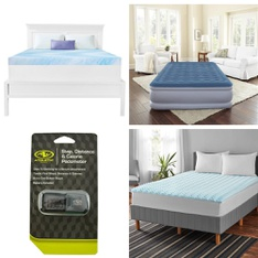 Pallet - 30 Pcs - Covers, Mattress Pads & Toppers, Hunting, Exercise & Fitness - Customer Returns - Dream Serenity, Mainstays, Athletic Works, Coleman