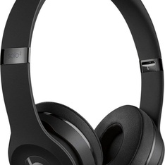 18 Pcs - Beats by Dr. Dre Solo3 Wireless Matte Black Beats Icon Collection On Ear Headphones MX432LL/A - Refurbished (GRADE D, No Packaging)