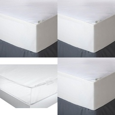 3 Pallets - 91 Pcs - Covers, Mattress Pads & Toppers, Comforters & Duvets, Hardware, Accessories - Customer Returns - Aller-Ease, American Textile, Mainstays, Mainstay's