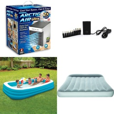 Truckload 26 Pallets - 762 Pcs - Pools & Water Fun, Camping & Hiking, Humidifiers / De-Humidifiers, Chargers - Customer Returns - As Seen On TV, Play Day, Coleman, Bestway