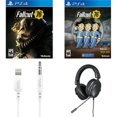 Pallet – 1042 Pcs – Sony, Cables & Adapters, Audio Headsets – Customer Returns – Bethesda Softworks, onn., Bethesda, Sony
