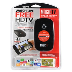 106 Pcs - Tzumi VIPRB-5192 Watch Live Free HDTV On Smartphones & Tablets - Like New, Used - Retail Ready