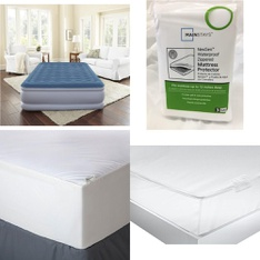 Pallet - 47 Pcs - Covers, Mattress Pads & Toppers, Comforters & Duvets - Customer Returns - Mainstay's, Aller-Ease, Mainstays, Beautyrest