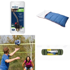 Pallet – 70 Pcs – Camping & Hiking, Outdoor Sports, Power Tools – Customer Returns – Bernzomatic, EastPoint Sports, Ozark Trail, Venture Outdoors