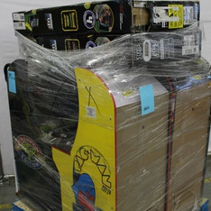 Pallet - 6 Pcs - Video Games & Gaming Software - Customer Returns - Arcade 1UP, ARCADE1up, Red Planet