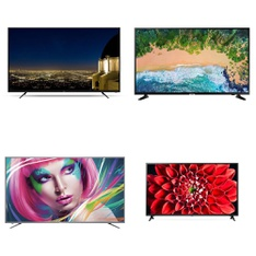 8 Pcs – LED/LCD TVs – Refurbished (GRADE A) – RCA, LG, TCL, Samsung
