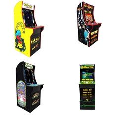 3 Pallets – 15 Pcs – Video Game Consoles – Game Room – Customer Returns – ARCADE1up