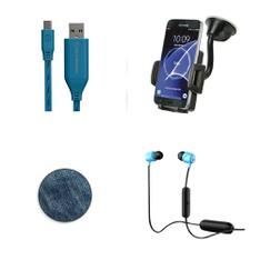 Pallet - 455 Pcs - Accessories, In Ear Headphones, Other, Ink, Toner, Accessories & Supplies - Customer Returns - Scosche, Onn, Wicked Audio, Great Value