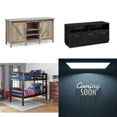 Pallet – 4 Pcs – TV Stands, Wall Mounts & Entertainment Centers – Customer Returns – Better Homes & Gardens