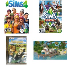 Pallet – 129 Pcs – Games, Sony – Customer Returns – Electronic Arts, Avanquest, Ubisoft, Conspiracy