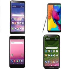 CLEARANCE! 19 Pcs – Cellular Phones – Refurbished (GRADE A, GRADE B, GRADE C – Not Activated) – LG, Motorola, ALCATEL, Orbic