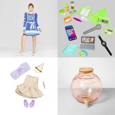 Pallet – 59 Pcs – Dresses & Skirts, Dolls, Pretend & Dress-Up, Kitchen & Dining – Brand New – Born Famous, Opalhouse, Our Generation