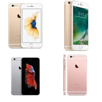 6 Pcs – Apple iPhone 6S – Refurbished (GRADE A – Unlocked) – Models: 3A510LL/A, MN1E2LL/A, MKQ82LL/A, MKRJ2LL/A