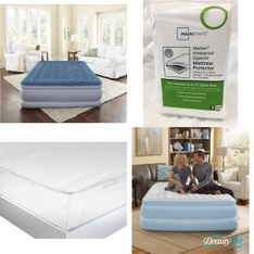 3 Pallets – 144 Pcs – Covers, Mattress Pads & Toppers, Vacuums, Comforters & Duvets, Bedding Sets – Customer Returns – Mainstay's, Beautyrest, Aller-Ease, Mainstays