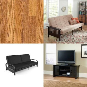 Pallet – 12 Pcs – Floor Care, Living Room – Customer Returns – Mainstays, Select Surfaces