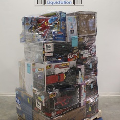 Pallet – 24 Pcs – Vehicles, Trains & RC, Dolls – Customer Returns – New Bright, Paw Patrol, The Fast and the Furious