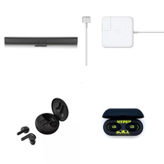 Pallet - 242 Pcs - In Ear Headphones, Speakers, Other, Power Adapters & Chargers - Customer Returns - LG, Onn, Apple, LINEARFLUX