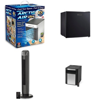 Pallet – 84 Pcs – Humidifiers / De-Humidifiers, Fans – Customer Returns – As Seen On TV, Mainstay's