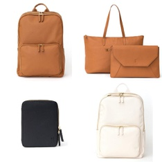 9 Pcs - Backpacks, Bags, Wallets & Accessories - New - Retail Ready - Motile
