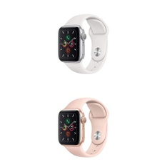 25 Pcs – Generation 5 Apple Watch – 40MM – Refurbished (GRADE A) – Models: MWV62LL/A, MWV72LL/A