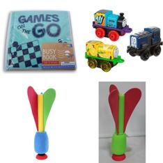 290 Pcs - Toys & Outdoor Play - New, New Damaged Box - Retail Ready - HORIZON GROUP USA, Bullseyes Playground, Fisher-Price, Papery Pop