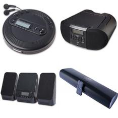 Pallet - 83 Pcs - Accessories, Speakers - Customer Returns - onn., Onn, One For All